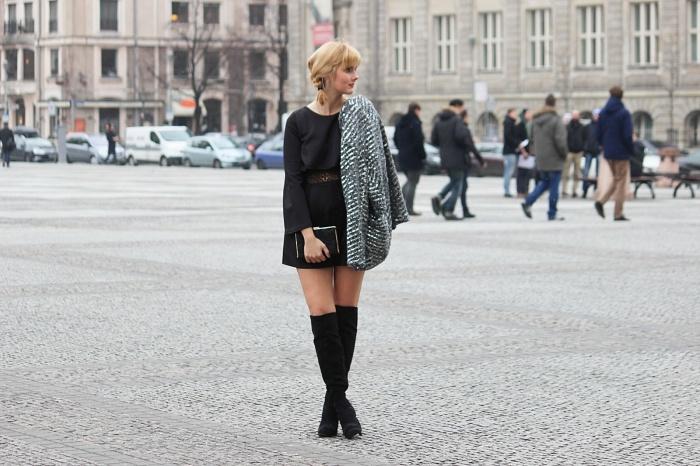 Des Belles Choses - Outfit - Overknees, Jumpsuit 1