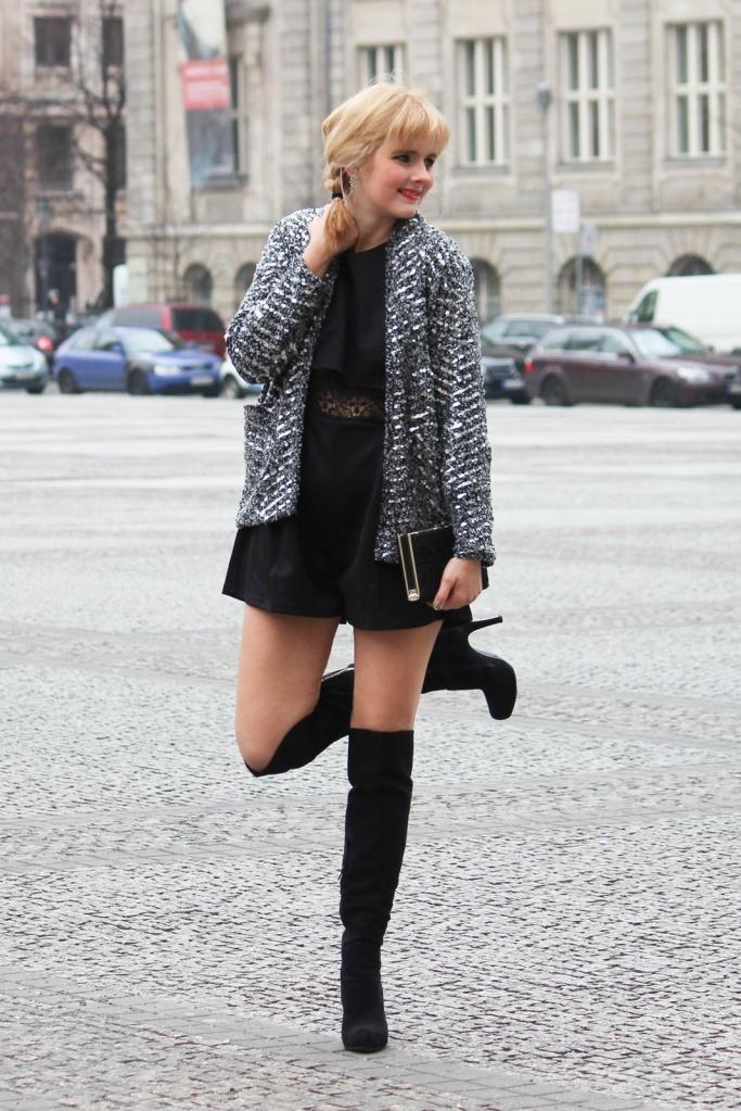 Des Belles Choses - Outfit - Overknees, Jumpsuit 2