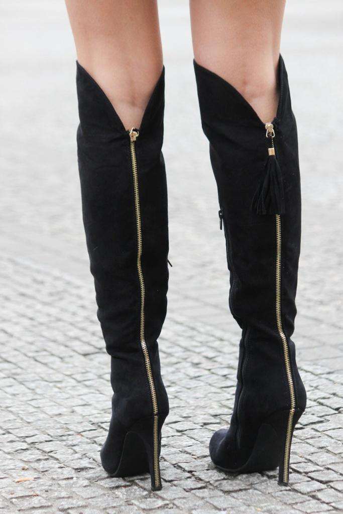 Des Belles Choses - Outfit - Overknees, Jumpsuit 5