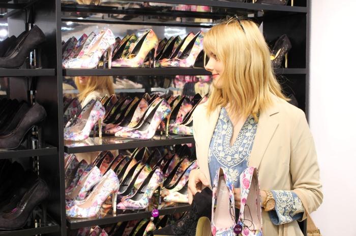 Schuh Shopping - na könnt ihr erraten, welche Heels ich mitgenommen habe?