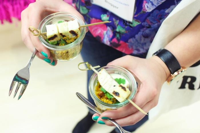 Kleine Stärkung mit Couscous Salat