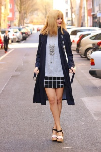 Outfit - Big city love- Zara Trenchcoat 1