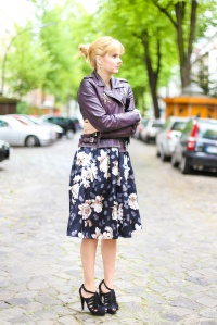 Des Belles Choses_Outfit Midi Skirt_Flower Print 5